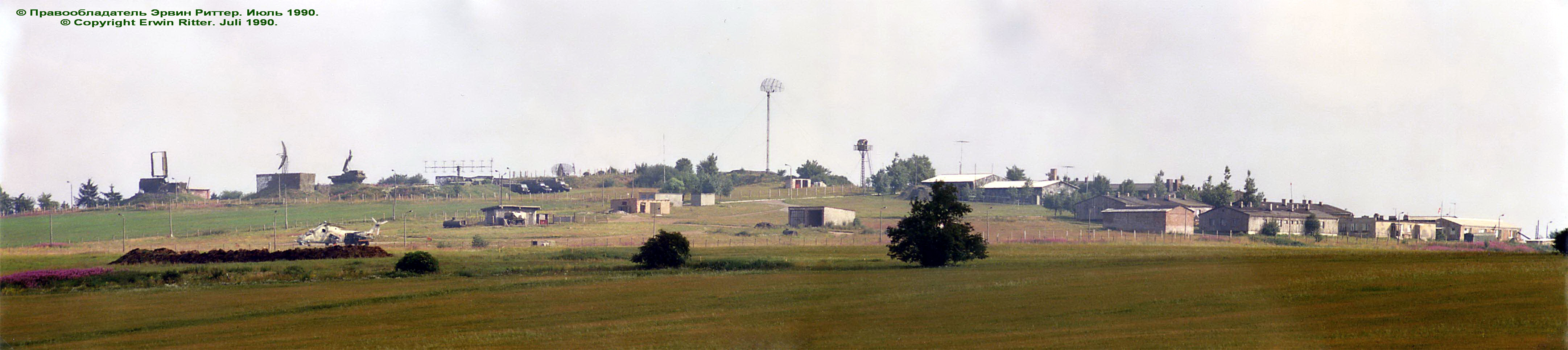 PVO radar site